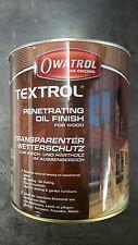 Owatrol Textrol.- UV-Schutz-Öl für Gartenmöbel / Terrassen uvm.