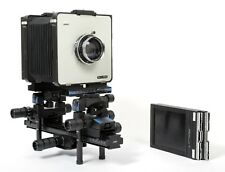 Cambo SF Super Field 4X5 Technical Camera w/ Schneider 210mm F5.6 Lens + Holders