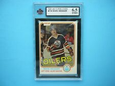 1981/82 O-PEE-CHEE NHL HOCKEY CARD #118 MARK MESSIER KSA 6.5 EXNM+ 81/82 OPC