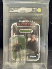 2018 Star Wars Vintage Collection VC119 Jyn Erso AFA U9.0
