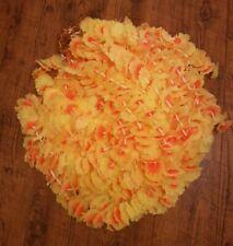 20 x Indian Wedding Garden Indian Decorative Handmade Flower Garland Yellow