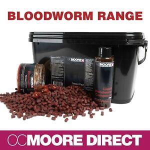 CCMoore Bloodworm Natural Range - Carp Fishing Bait *NEW*