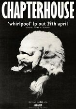 27/4/91 Pgn24 Advert: Chapterhouse whirlpool New Lp Out On Rough Trade 7x5
