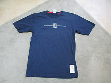 VINTAGE Tommy Hilfiger Shirt Adult Extra Large Spell Out Sport Blue 90s Flag
