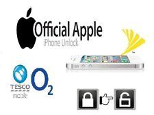 O2 REGNO UNITO iPHONE 6/6 S/6+ CODICE di sblocco di fabbrica-IMEI Pulito-servizio veloce
