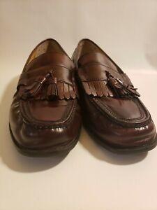 Nunn Bush Men's 13M Black Keaton Loafers MOC Toe Kiltie Tasseled Comfort