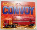 Vintage Matchbox Convoy Ferrari DAF Semi Trailer Low Bed Box Car Truck CY24 1983