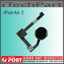 Black Home Menu Button With Flex Cable Replacement for iPad Air 2 iPad 6