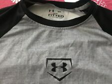 Under Armour Men's S Fitted Baseball Shirt