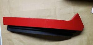 RAM 2009-2018 OEM-Bumper Trim-Filler Molding Left 55372919AC RED PR4