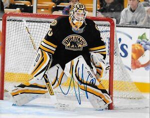 Autographed Boston Bruins Tim Thomas 8x10 Photo Original