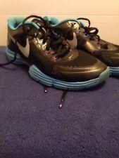 Nike Lunar TR1 Running Shoes Sneakers Black Blue Purple Size 9.5