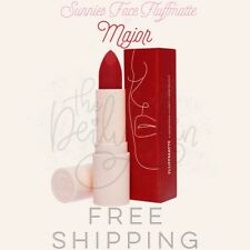 Sunnies Face Fluffmate Matte Lipstick Major Most Cool Red
