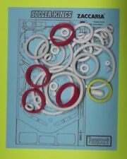 1982 Zaccaria Soccer Kings pinball rubber ring kit