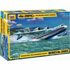 "Zvezda 7034 Be-200ES Altair ""MChS"" /russian multirole amphibious aircraft/ 1/144"