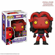 Marvel - Red She-Hulk SDCC 2017 US Exclusive Pop! Vinyl - FUNKO - BNIB