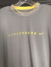 Mens Nike Pro Combat Livestrong Xxl Fitted Shirt Euc Retail $54.99