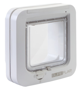 Sureflap Microchip Cat Flap- White
