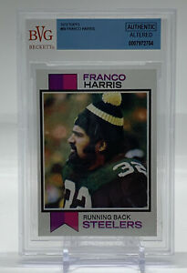 1973 Topps FRANCO HARRIS #89 Pittsburgh Steelers Rookie