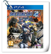 PS4 Earth Defense Force 4.1 SONY PlayStation Games Action PQube