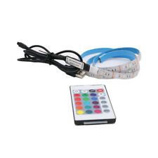 5050 TV LED RGB Strip Band Hintergrundbeleuchtung USB Lichterkette Fernbedienung