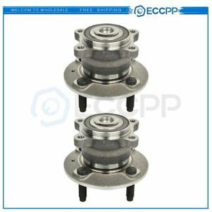 For Chevrolet Spark Ev 2014 Pair Wheel Bearing & Hub Assembly Rear W/ABS 4Lug