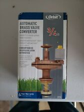 Orbit 3/4� Automatic Brass Valve Converter Model: 57034
