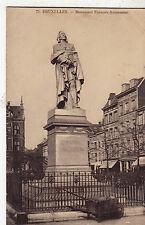BF16789 bruxelles monument francois anneessens belgium front/back image