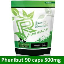 RAW Health 90 capsules * 500mg | Relaxation, Mood, Sleep, Recovery