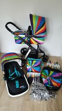 Cosatto Giggle 2 Travel System Buggy Pram Go Brightly Rainbow Accessories