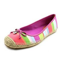 Coach Royce Hamptons Women Flat Shoes Size 9.5 Multi NEW