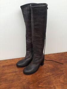 Ann Demeulemeester Italian Leather Boots