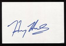 Harry Hamlin Signed 4 x 6 Inch Index Card HUGE Signature Autographed