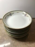"NORITAKE china LAUREATE 61235 coupe soup bowls 7-1/2""( The Price is For 2 Bowls)"