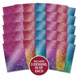Hunkydory - Mirri Card Specials - Glitter Ombre Collection - MCD409