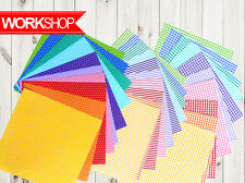 30 different sheets Origami tartan stripe polka dots both side OR015