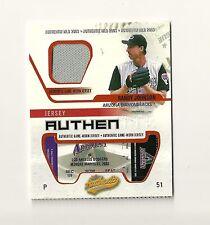 2003 Fleer Authentix Game Jersey #RJ Randy Johnson SP Insert Diamondbacks USC