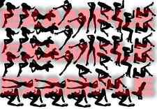 PICK SIZE Waving US Flag Stencil Vinyl Cerakote Paint Airbrush USA