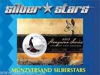 1 AU Dollar Silber Känguru 2013 Kangaroo in Blister 1 OZ Silver in Coincard