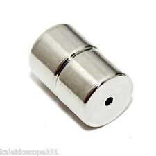MAGNETIC CLASP 8X12MM 8X6MM MEDIUM SILVER COLOR 10 CLASPS MC82N