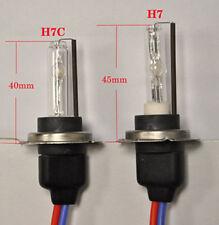 COPPIA LAMPADE FARI XENON H7 CORTE H7C 6000 K RICAMBI XENO ALFA RENAULT 147 159