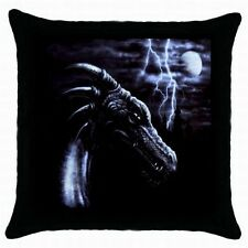NEW SET OF 2 PURPLE DRAGON CUSHION PILLOW CASE COVERS BEDROOM LOUNGE DECORATION