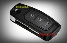 3 Button Key Remote Fob Case for Ford Focus Mondeo C-Max S-Max Kuga Galaxy Zetec