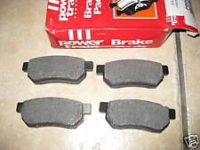 Arrière Plaquettes de frein-s' adapte: Honda Accord et Prélude & Integra (1985-89)