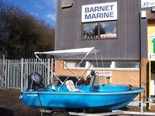 NEW BIMINI TOP Folding Sun Rain Cover Boat Rib Inflatable Width 140-165cm 3447