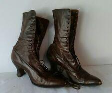 Swopes Victorian Ladies Lace Up Boots True Antique