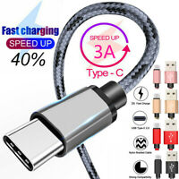 For Samsung Galaxy S10E S10 Plus Type C USB-C Fast Charging Cable Data Charger