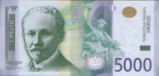 Serbia 5000 Dinars 2016. P-53. ZA-REPLACEMENT. aUNC