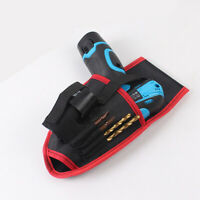 Heavy Duty Electric Drill Cordless Bag Pouch Belt Holder Tool Oganizer Pocket