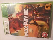 NEW XBOX 360 ROCKSTAR GAME MAX PAYNE 3 III PAL BRAND NEW SEALED MINT bnib